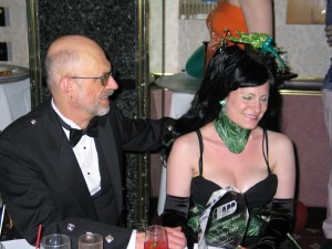 Jim Ward and Michaela Grey at the 2005 APP Awards ceremony